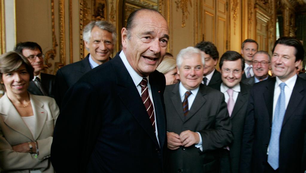 L'ancien président français Jacques Chirac est décédé