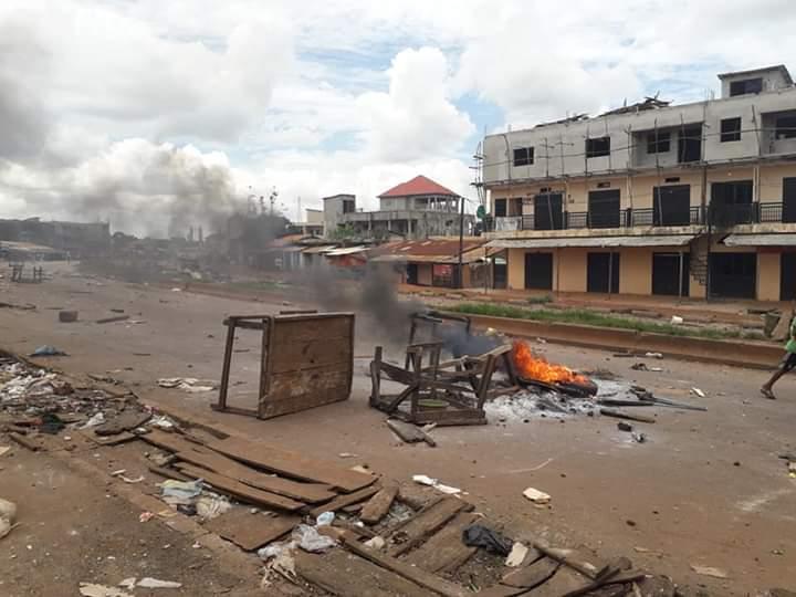 Guinée : manifestations anti 3e mandat à Conakry et dans plusieurs villes de l'intérieur