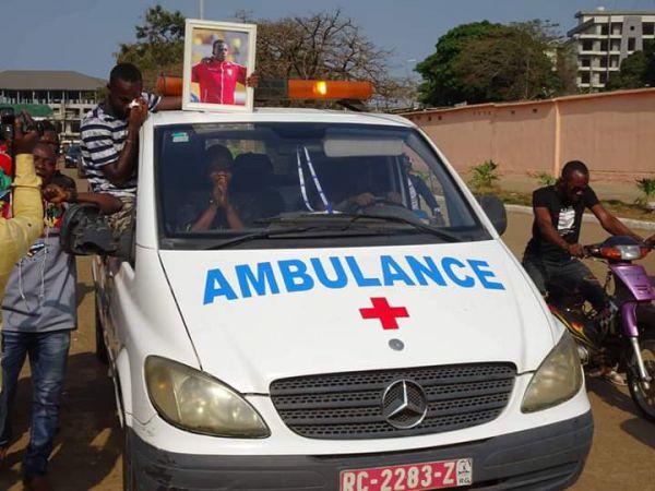 Drame: le Wakrya AC de Boké perd deux joueurs et un chauffeur dans un accident