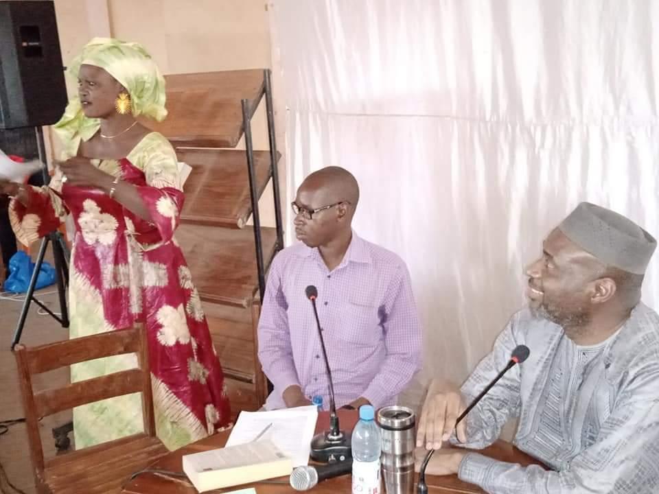 Moussa MARA participe à Kati à la seconde édition du café littéraire et à la rentrée culturelle de cette ville.