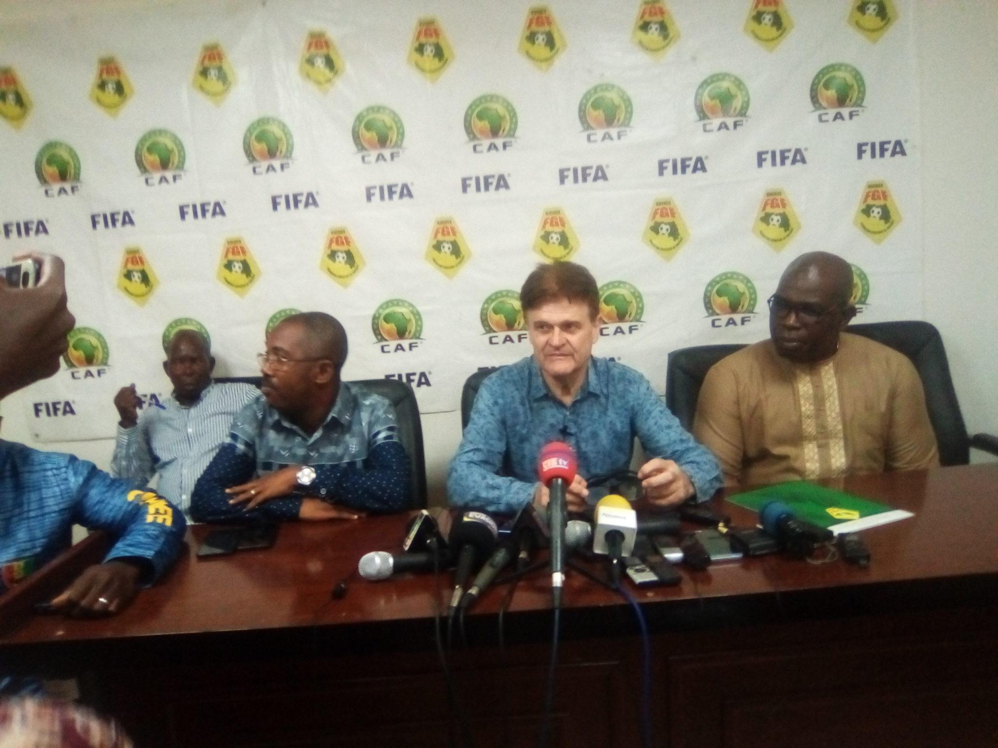 CAN 2021: les 23 de Six contre le Tchad