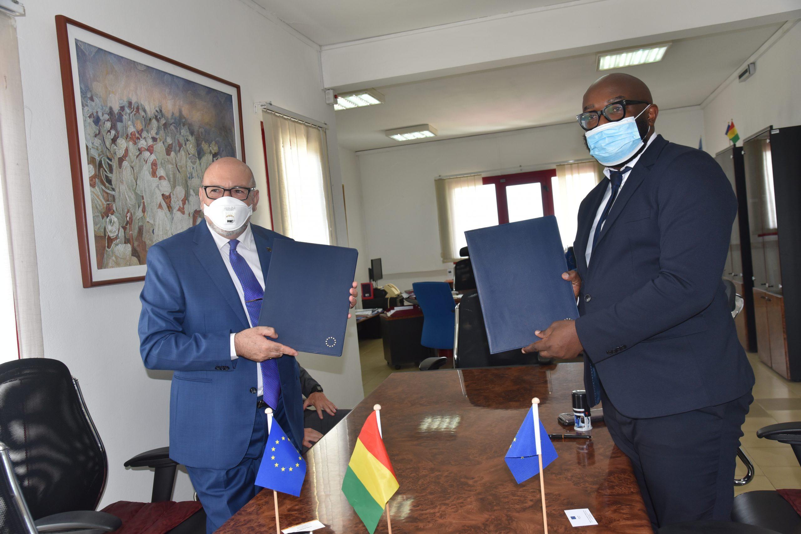 Communiqué de presse: l'Union européenne mobilise une nouvelle action d'envergure pour appuyer la riposte contre la Covid-19 en Guinée