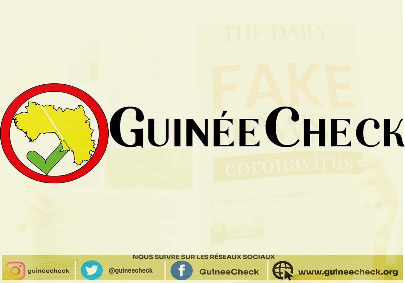 Covid-19 : GuinéeCheck  s'engage dans la lutte contre la désinformation