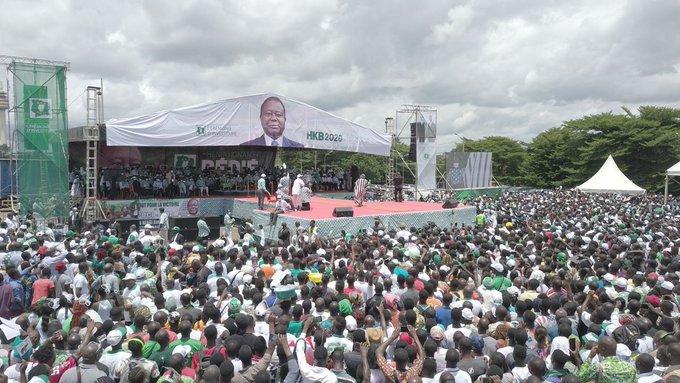 Présidentielle en Côte d'Ivoire : Henri Konan Bédié, rassembleur, appelle au «retour des exilés»