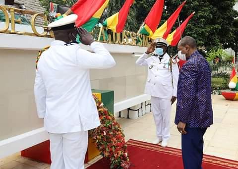 Fête de l'indépendance : Alpha condé s'engage à renforcer l'armée