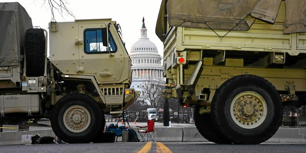 Washington se barricade pour la cérémonie d'investiture de Joe Biden