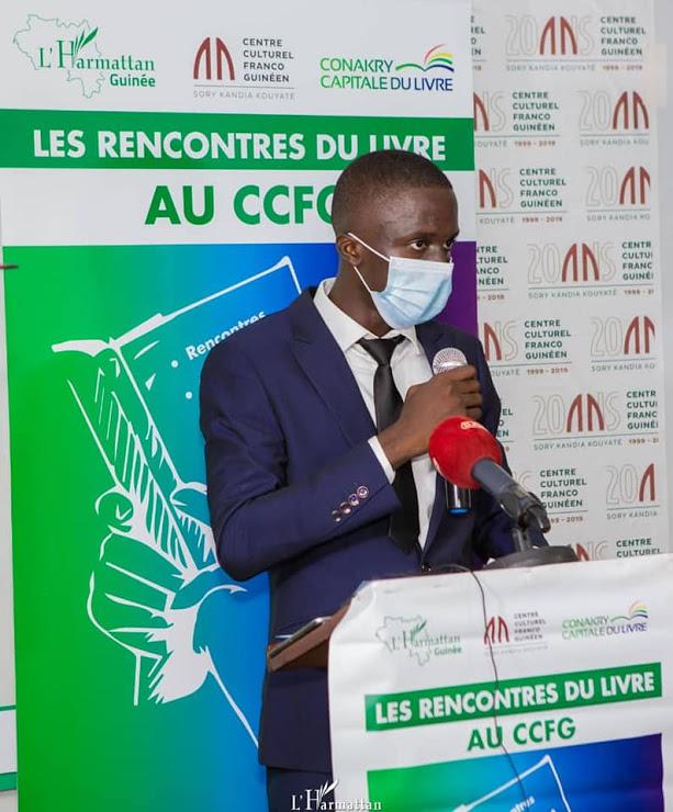 Littérature: Sekou Chérif Haidara signe son premier ouvrage chez l'Harmattan Guinée