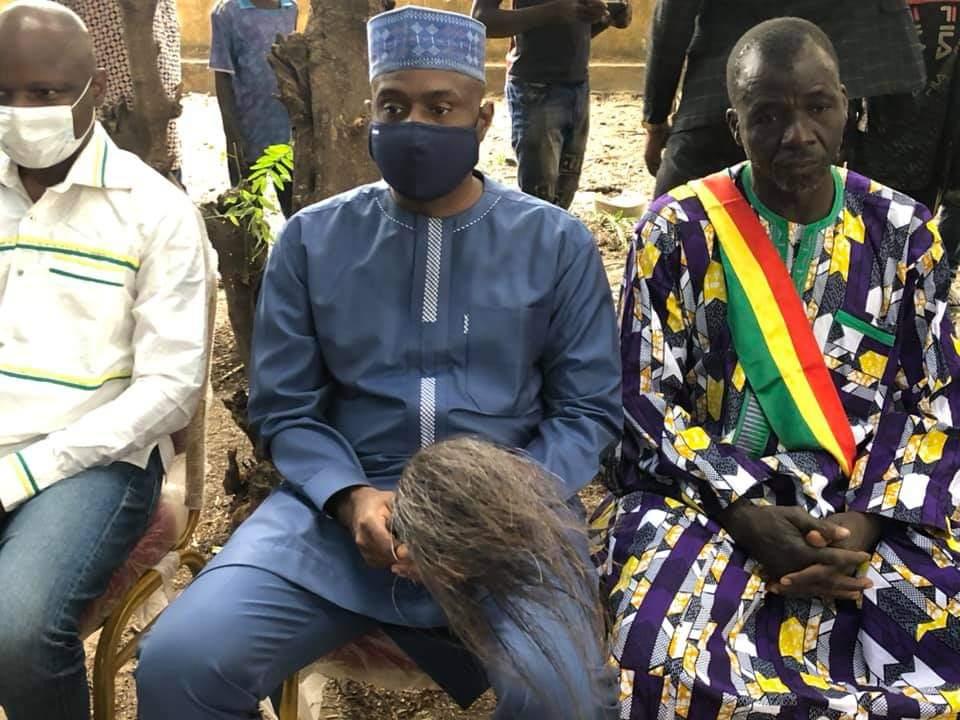 Mali : Moussa Mara à la rencontre annuelle des chasseurs de la contrée