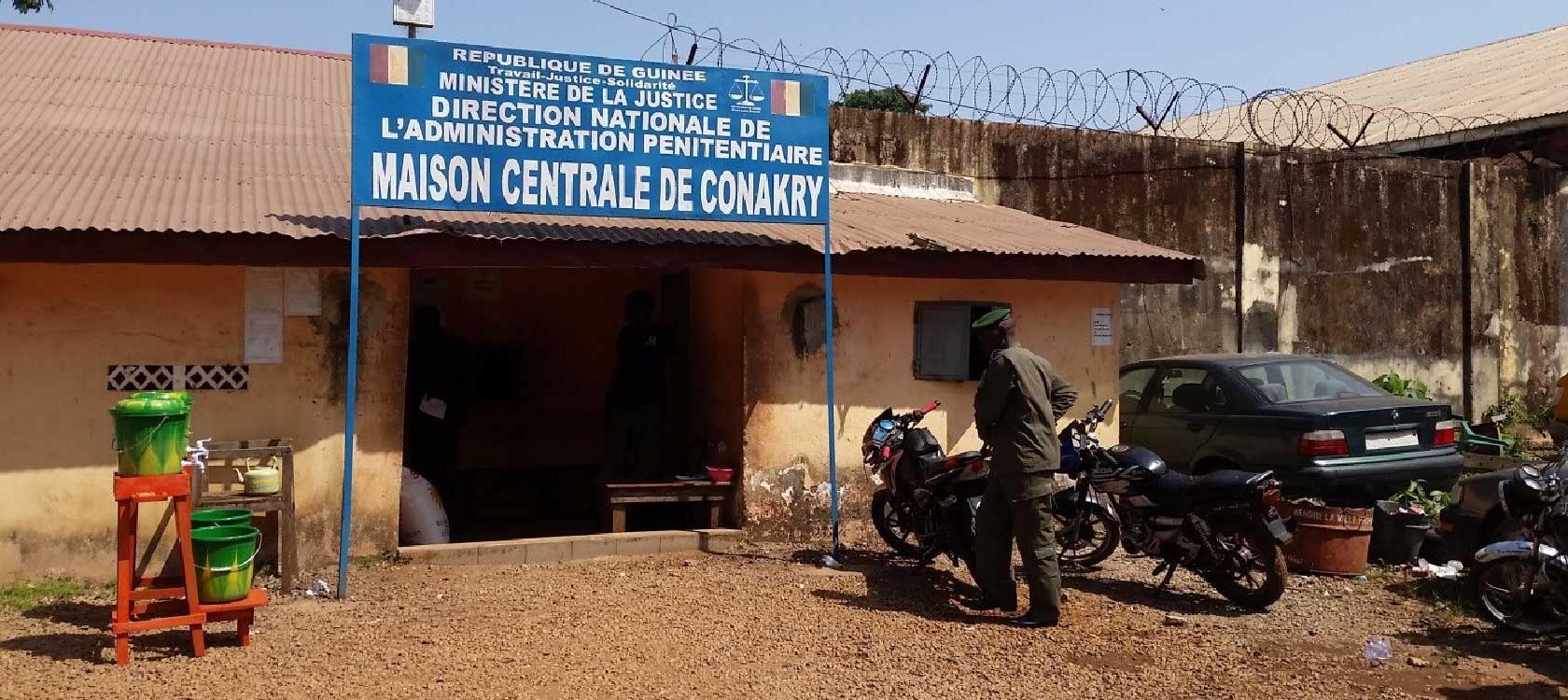 Maison centrale Conakry : les avocats des opposants incarcérés empêchés encore d'accéder à leurs clients
