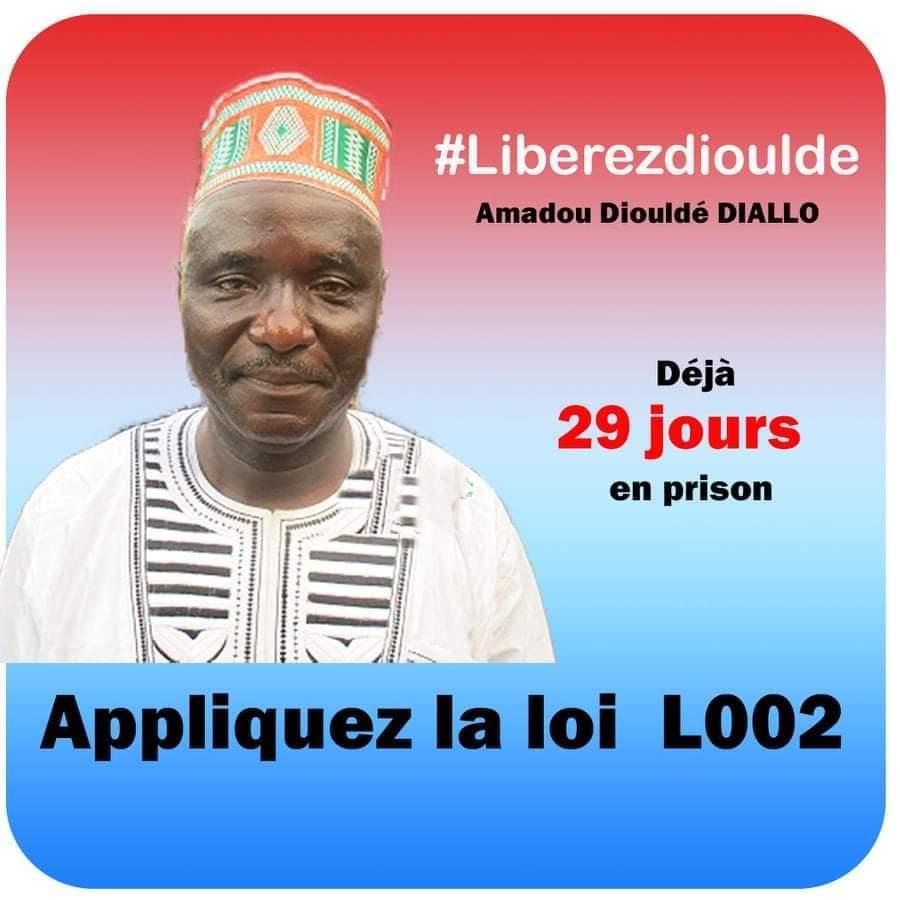 Liberté de la presse : Reporters sans frontières exige la libération de Amadou Diouldé Diallo