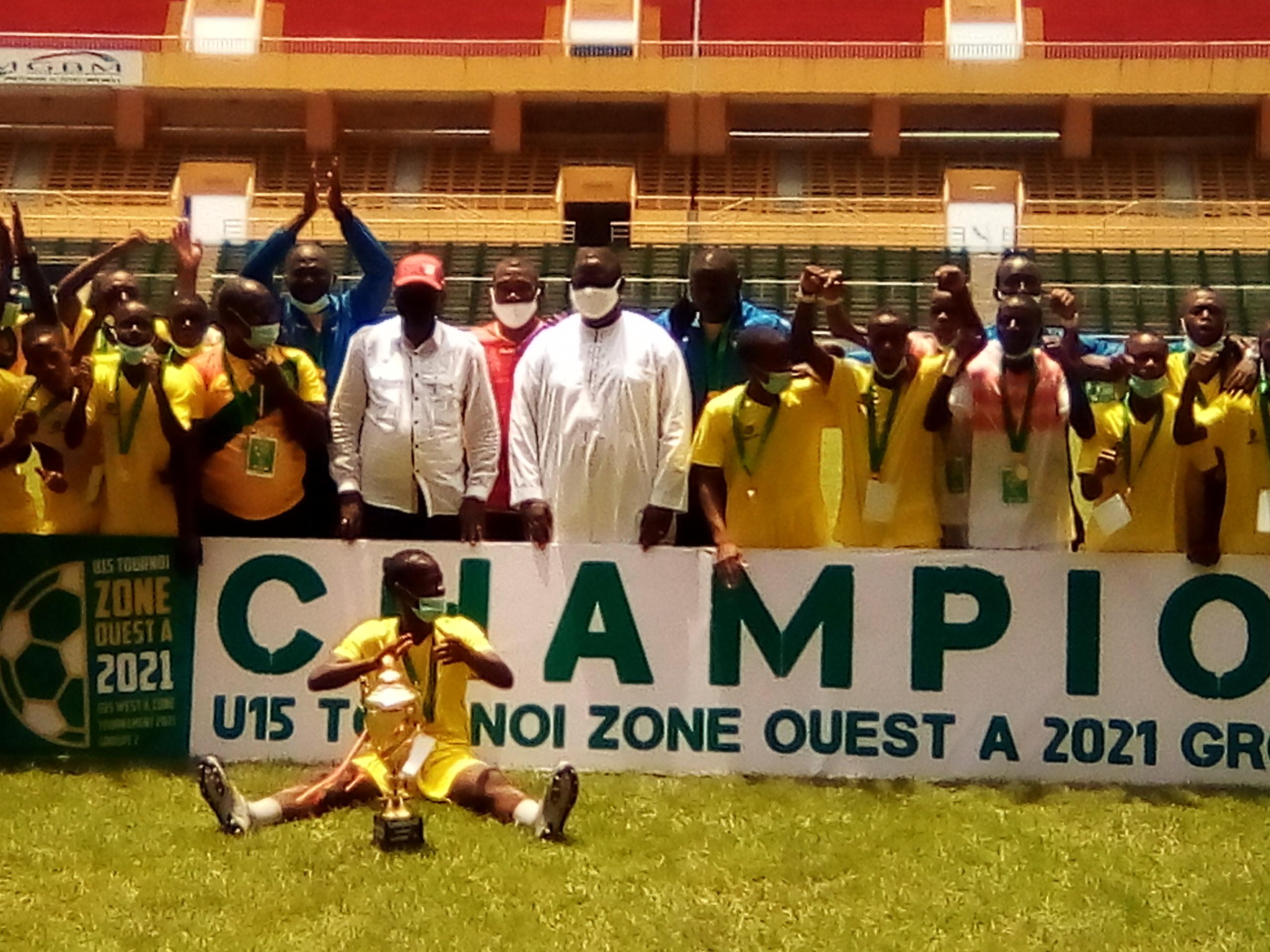 Tournoi UFOA A U15: la Guinée rafle le titre
