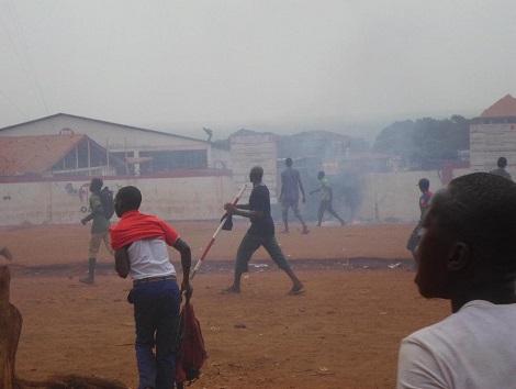 Kérouané : un mort et plusieurs blessés lors de la manifestation d'hier nuit